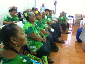 Training in leprosy facts for healers in Samoa