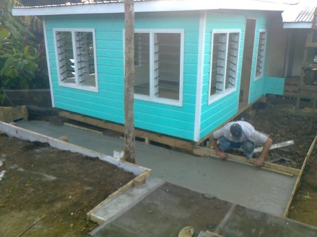 Sakaria, in Samoa, needed an extension to his house to make more space for his family