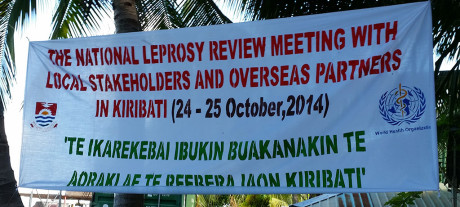 This recent meeting in Kiribati produced a plan for the next five years which should bring leprosy numbers in Kiribati to a safer level, eventually leading to the elimination of leprosy as a public health risk.